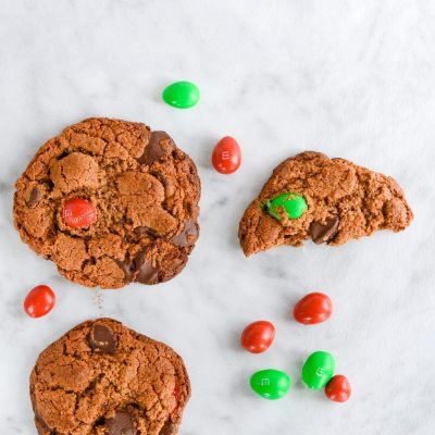 Double Almond Chocolate Chip Cookie {gluten free}