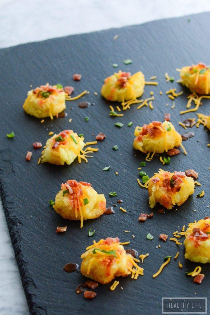 Loaded Mashed Potato Bites Recipe