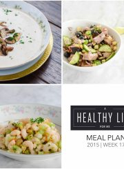 Meal Plan Week 17 | ahealthylifeforme.com