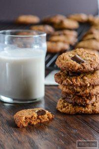 Cashew Coconut Chocolate Chip Cookie Recipe | ahealthylifeforme.com