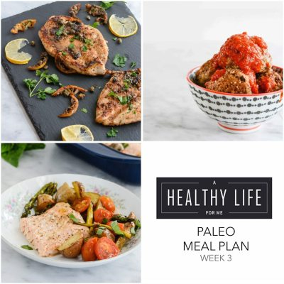 Meal Plan Week 3 {paleo}