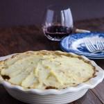 Chicken Pie with Cauliflower Crust gluten free recipe | ahealthylifeforme.com