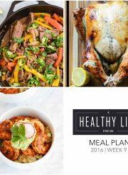 Weekly Meal Plan 9 Healthy | ahealthylifeforme.com