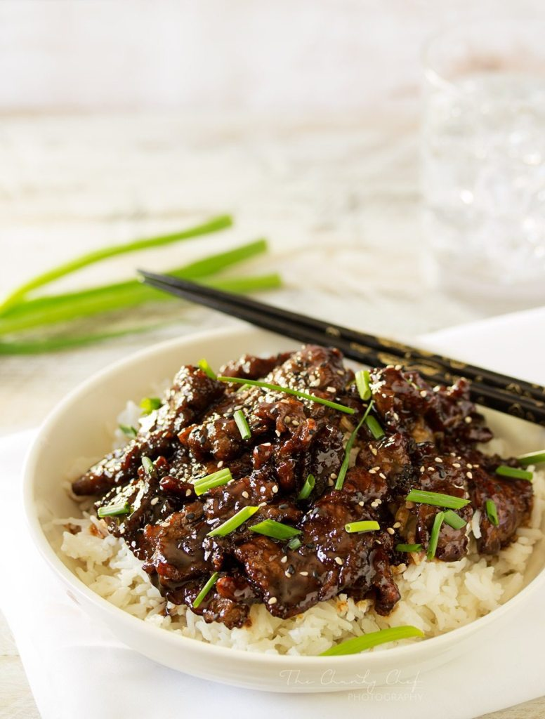 Mongolian Beef Recipe | The Chunky Chef