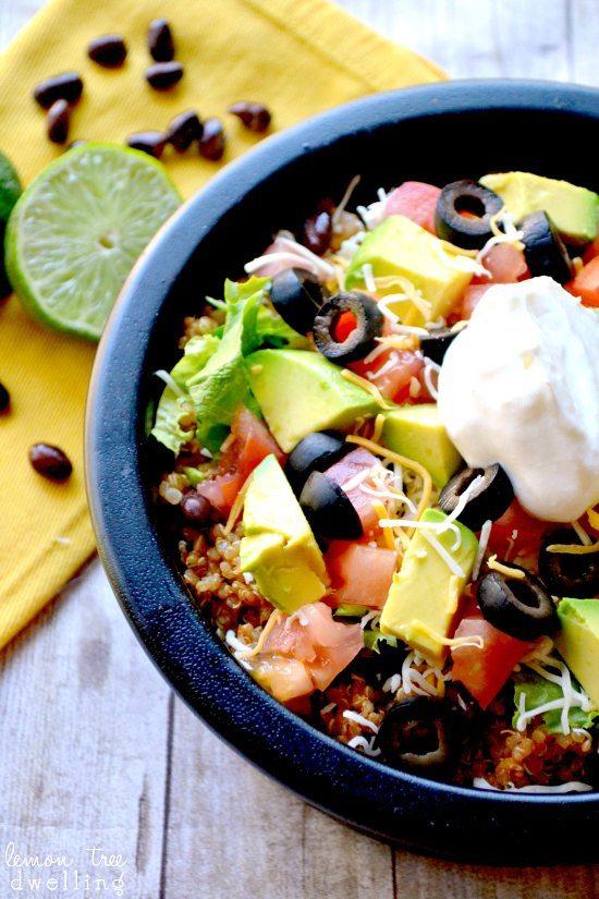 Quinoa Taco Bowl Recipe