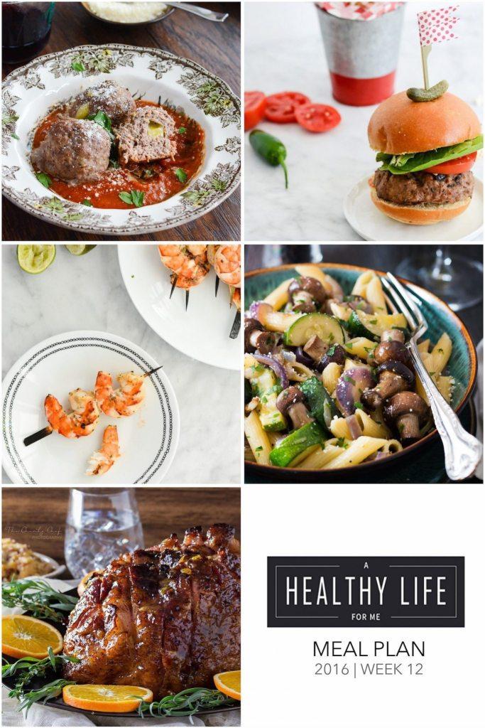 Healthy Weekly Meal Plan 12 | ahealthylifeforme.com