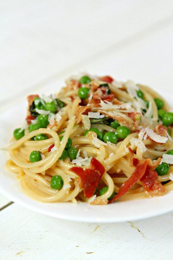 Spaghetti Carbonara | recipegirl.com