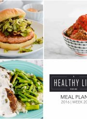 Healthy Weekly Meal Plan | ahealhtylifeforme.com
