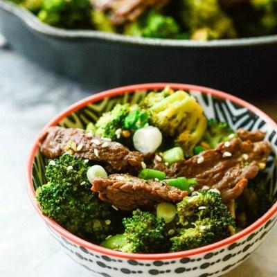 Paleo Beef and Broccoli {Gluten Free}