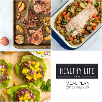 Weekly Meal Plan Week 29