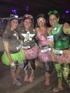 Color Run Night 5k Cincinnati Ohio