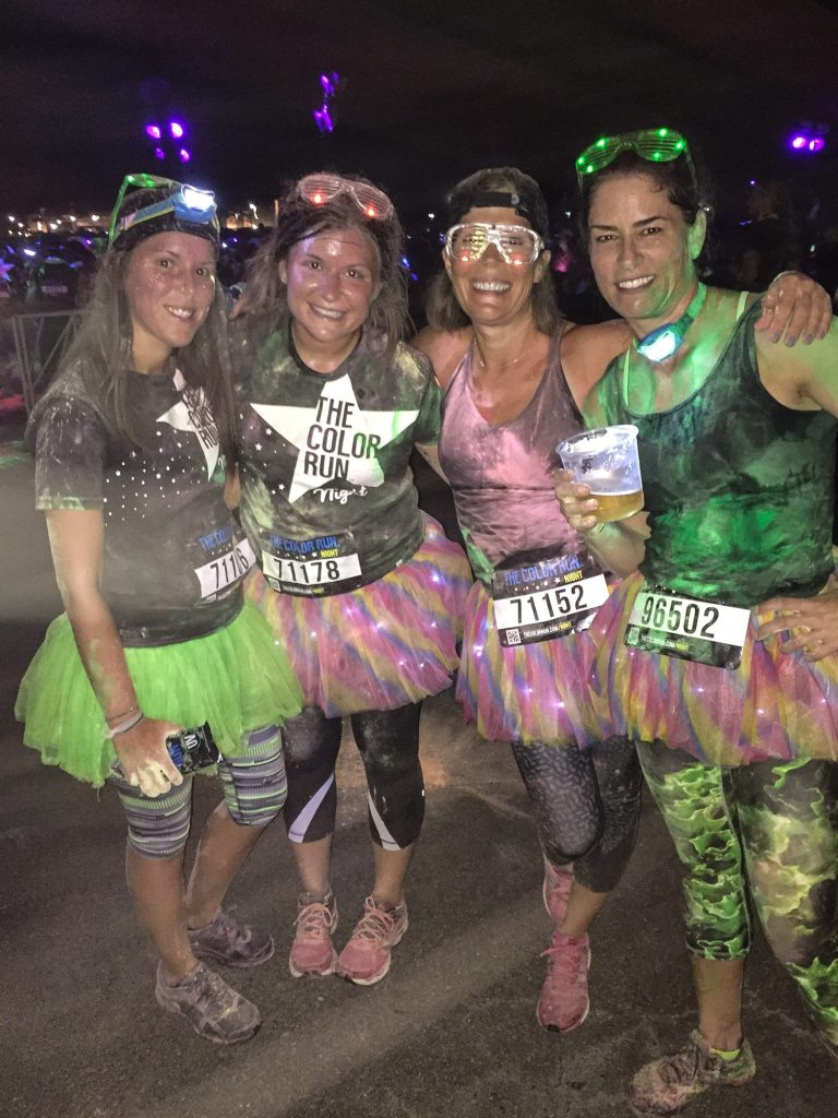 Color Run Night 5k Cincinnati Ohio