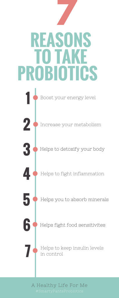 7 Reasons to Take Probiotics | ahealthylifeforme.com
