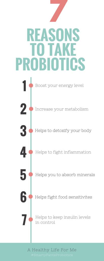 7 Reasons to Take Probiotics | ahealthylifeforme.com