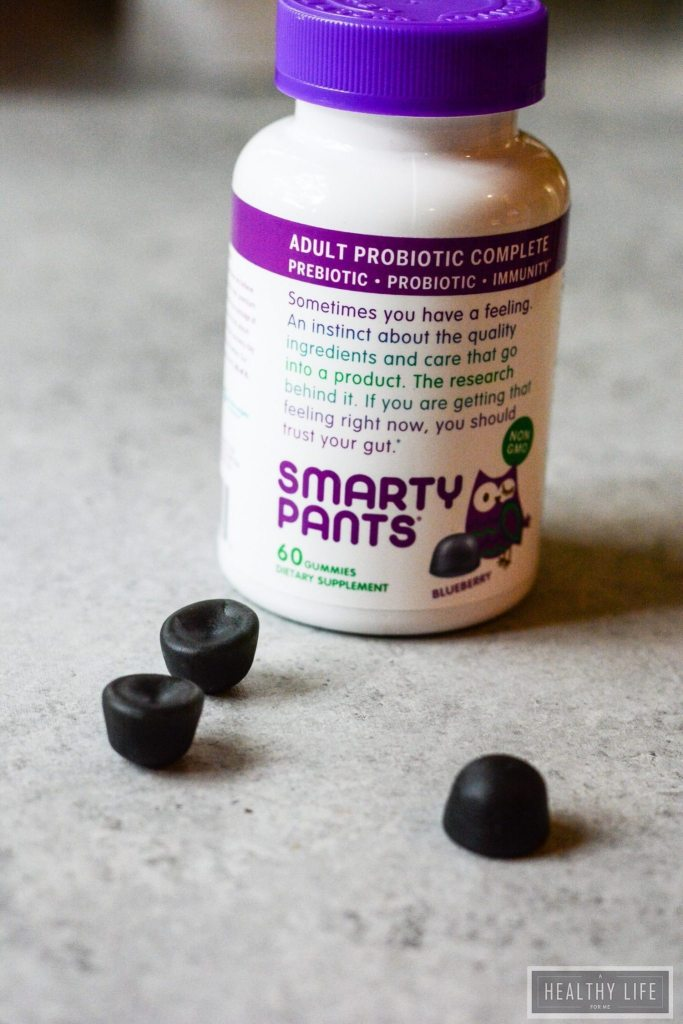 7 Reasons to take probiotics with SmartyPants | ahealthylifeforme.com