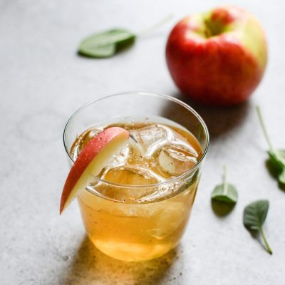 Fizzy Apple Cider Mocktail