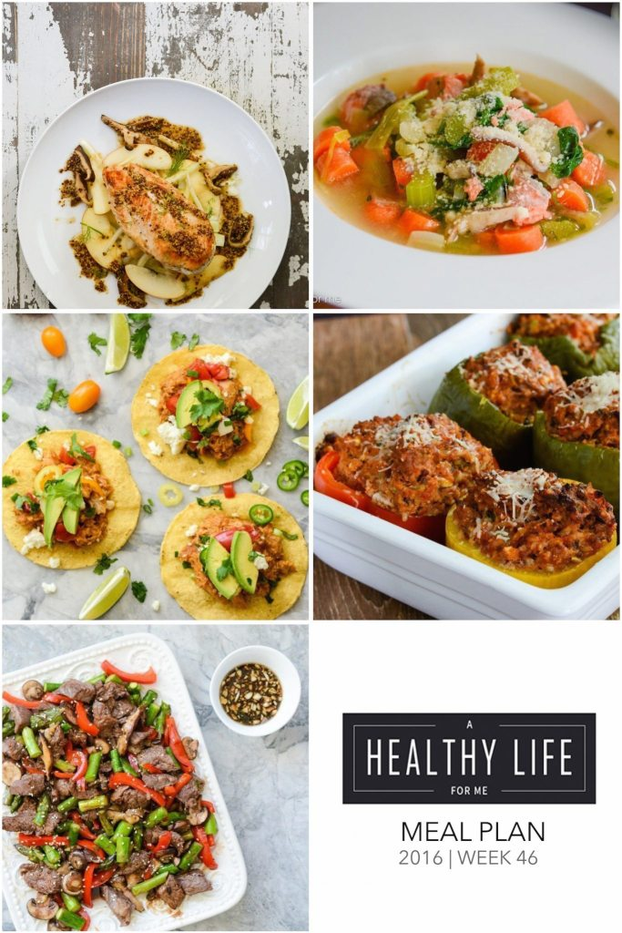 Weekly Meal Planning | ahealthylifeforme.com