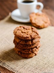 Gluten Free Gingersnaps are a crisp flavorful easy holiday cookie recipe | ahealthylifeforme.com