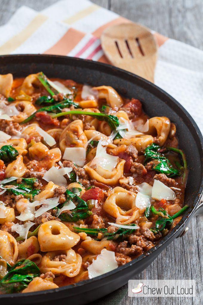 tuscan-tortellini-one-pan