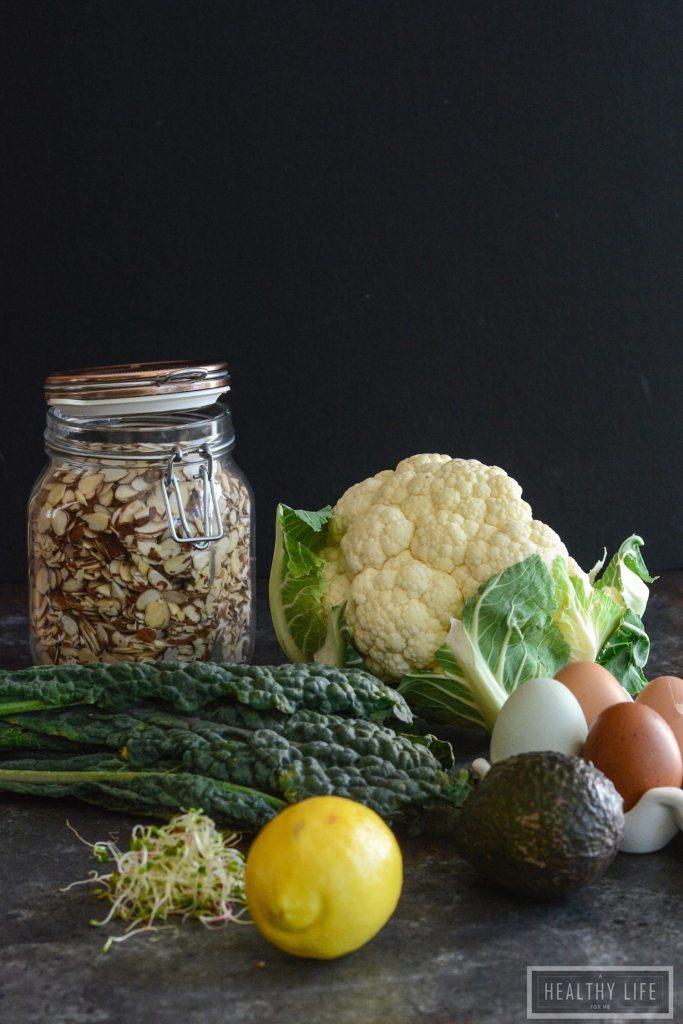 Paleo Cauliflower Avocado Egg Bowl Recipe healthy good for you recipe | ahealthylifeforme.com