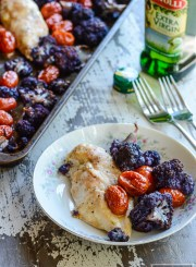 Sheet Pan Chicken Cauliflower Recipe | ahealthylifeforme.com
