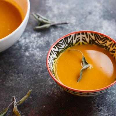 Immune Boosting Pumpkin Ginger Coconut Soup