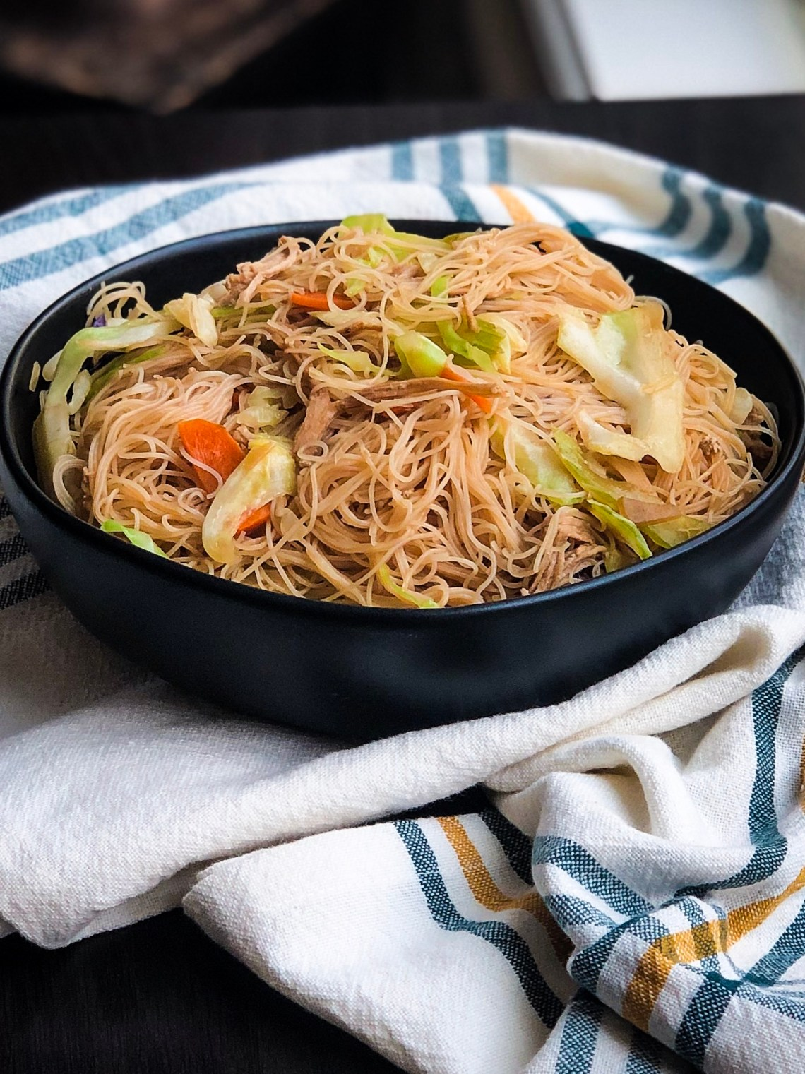 Authentic Pancit Recipe Filipino Noodles With Chicken A Healthy Makeover