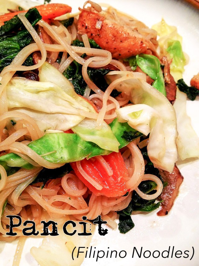 how to make pancit noodles from scratch