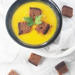 Gingerbread croutons to brighten up your soup