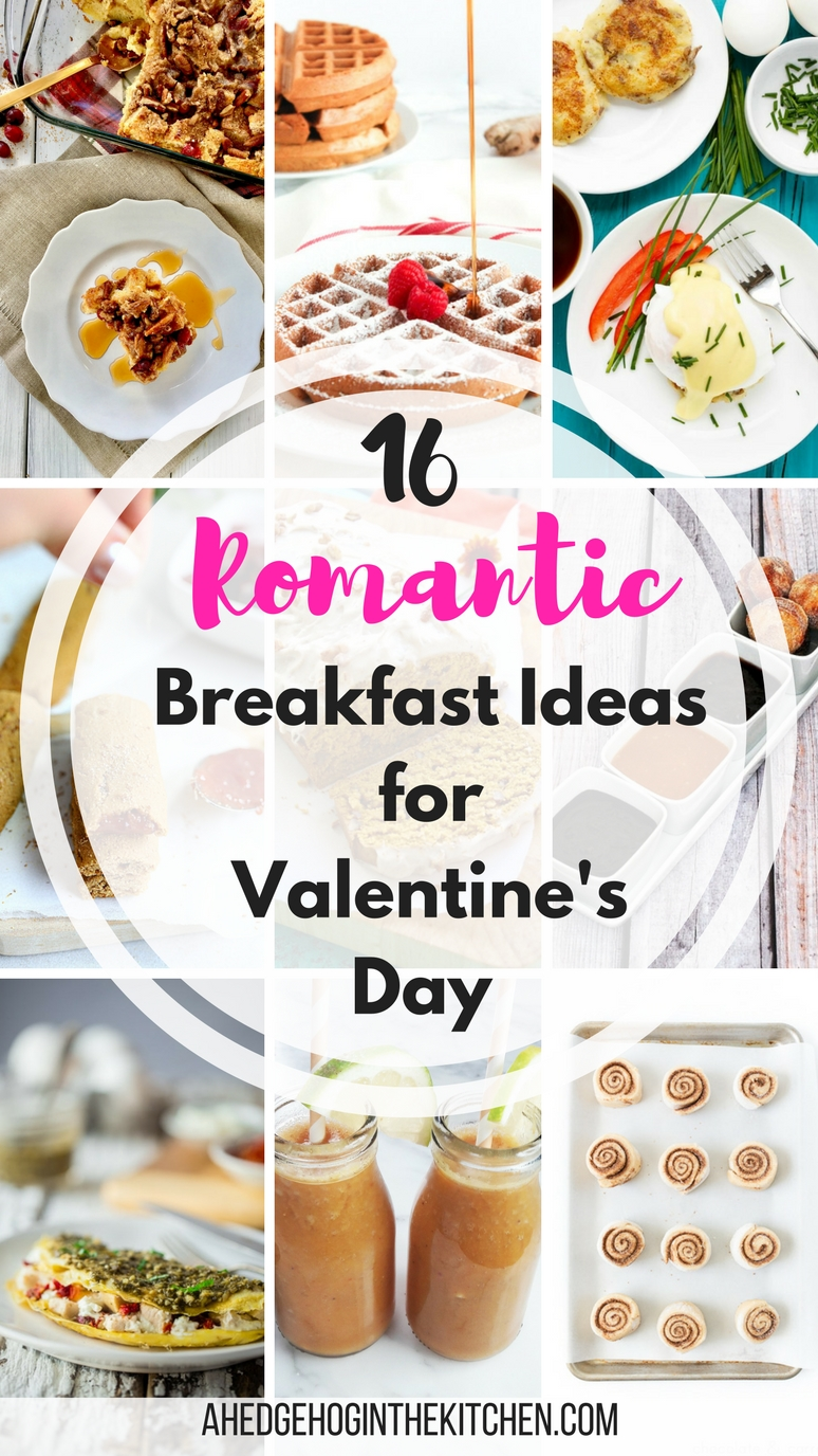 16 Romantic Breakfast Ideas for Valentine's Day. | ahedgehoginthekitchen.com