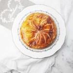 Caramelized apple galette des rois