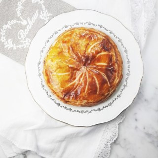 Caramelized apple galette des rois. | ahedgehoginthekitchen.com