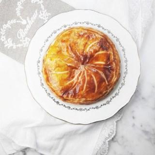 Caramelized apple galette des rois. | ahedgehoginthekitchen.com
