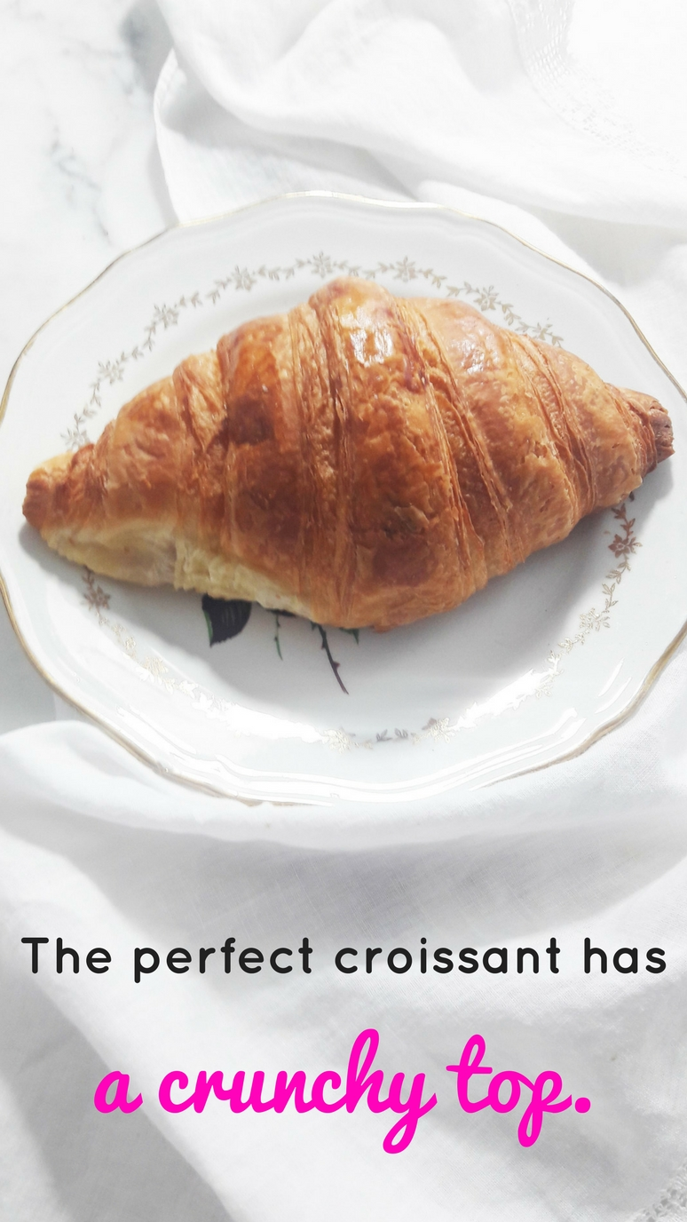 The 5 essential characteristics of a perfect croissant. | ahedgehoginthekitchen.com