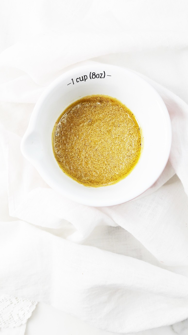 We put this delicious 3 ingredient French vinaigrette over all of our salads. It is quick, simple and quintessentially French! | ahedgehoginthekitchen.com