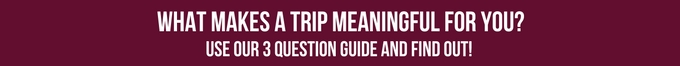 Meaningful Travel Button