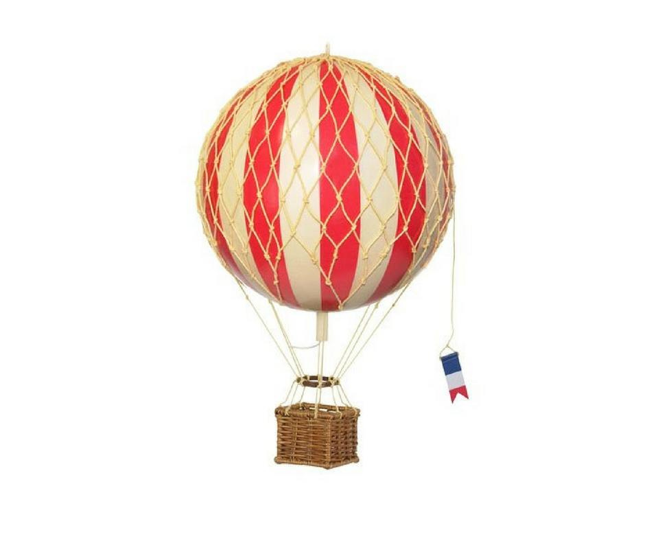Gift Guide from Our Parisian Home. Parisian Hot Air Balloon. | ahedgehoginthekitchen.com