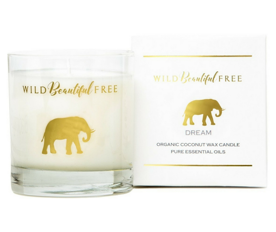 Gift Guide from Our Parisian Home. Organic Elephant Soy Candle. | ahedgehoginthekitchen.com