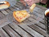 Ham/cheese pie and blueberry pie IMG_1314C