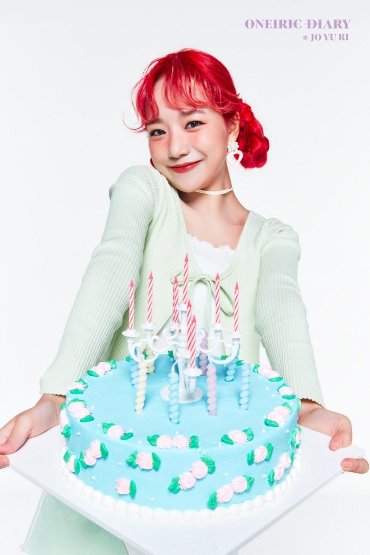 Jo Yuri from IZONE for Oneiric Diary comeback