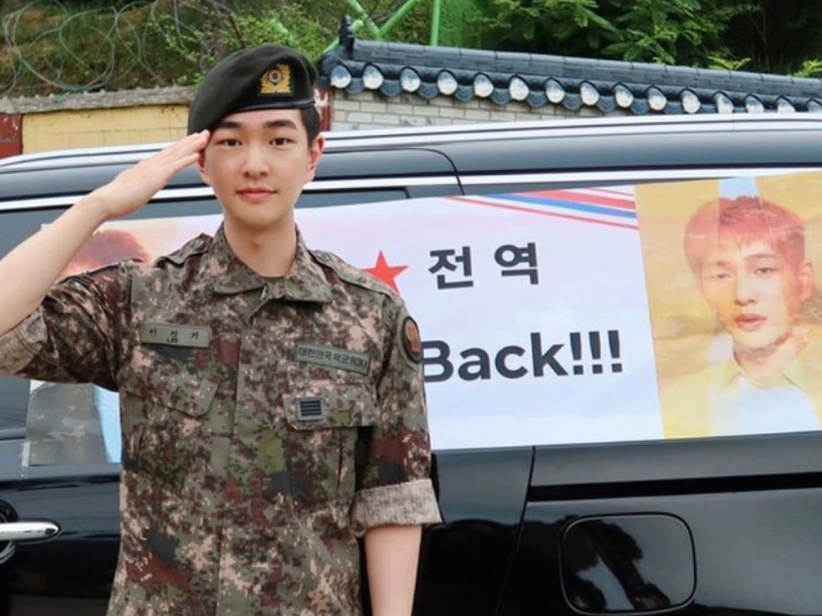 SHINee's Onew is discharged from the Military on 20 Jul 2020. Dubu leader is back!