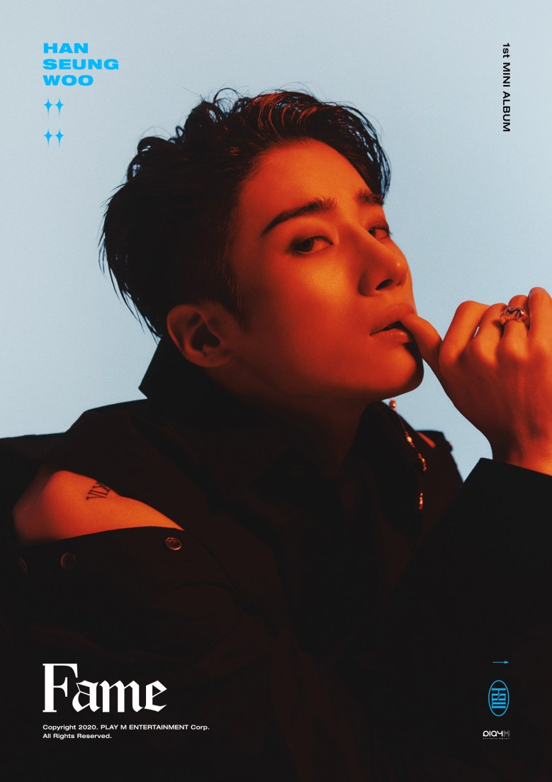 Han Seungwoo's first solo album concept image for #WOO.