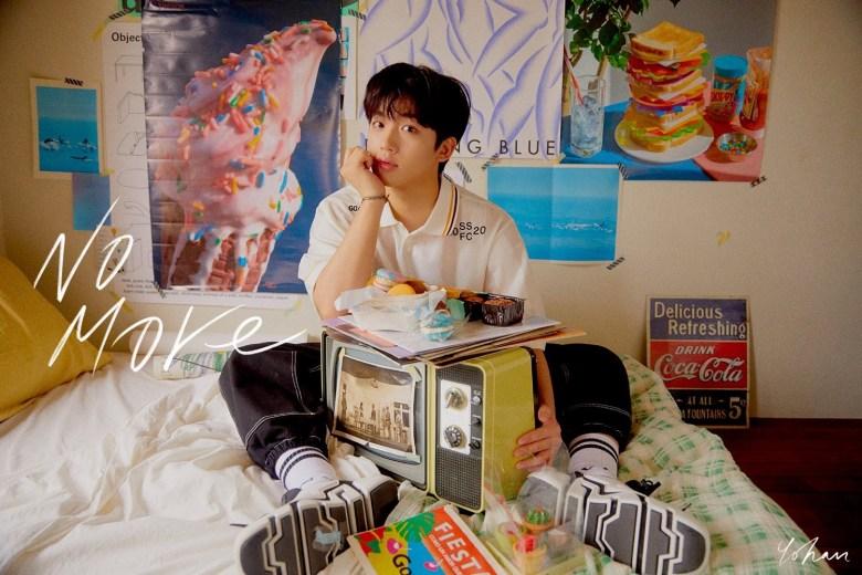 Kim Yo Han's 1st digital single 'No More' Concept Image #1