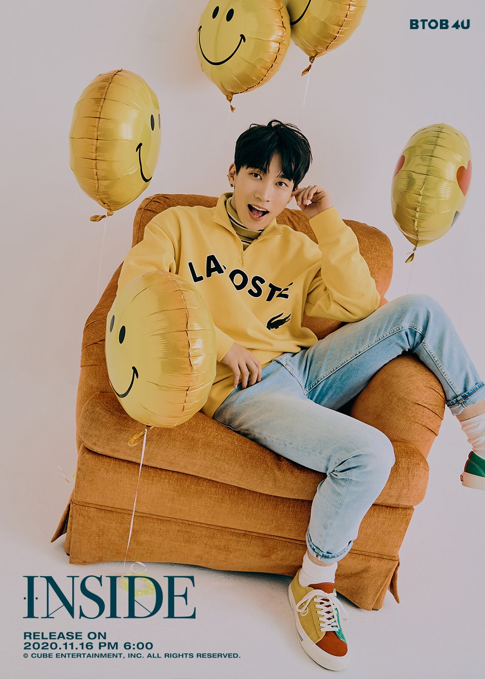 BTOB 4U 1st Mini Album Image Teaser - Seo Eun Kwang