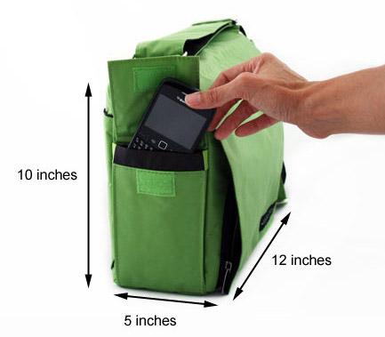 Grab & Go Bag Measurements - Product View