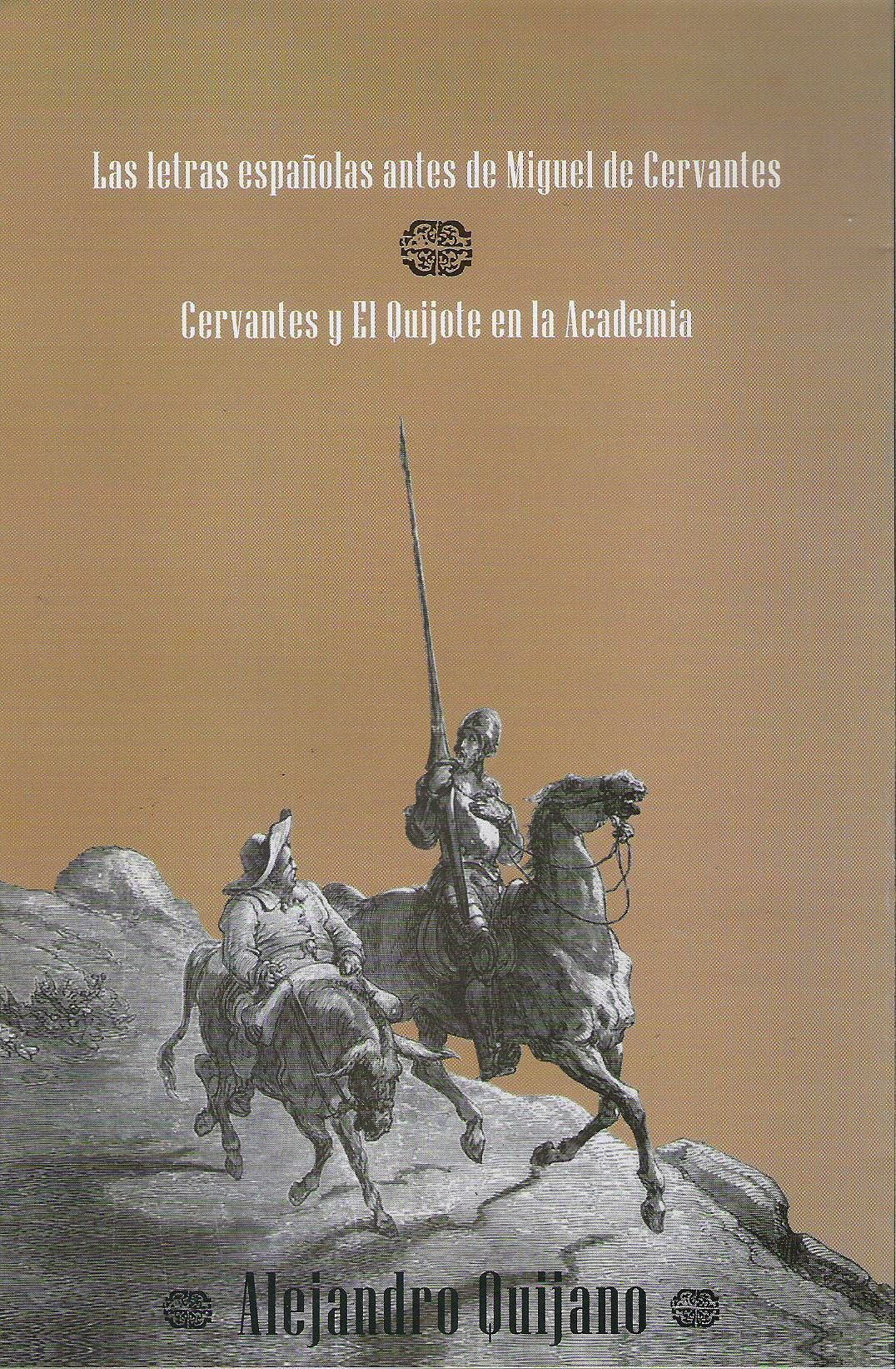 Las letras espa¤olas antes de Miguel de Cervantes