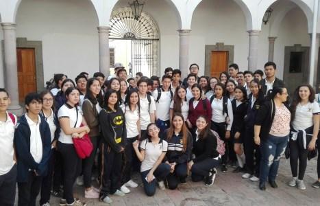 "Visita Escuela Preparatoria ""Emiliano Zapata"" de la UAS"