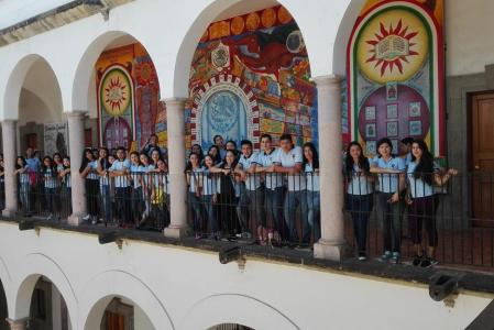 Visita Alumnos Escuela Normal de Sinaloa