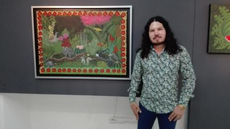 """El Artista Emmanuel Salomón Presentó """"Identidad Sinaloense"""""""