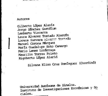 Inventario del ramo tierras del Archivo General del Estado de Sinaloa